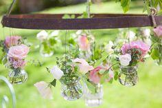 Floral chandelier. Photography by fleurdesucre-photographie.com, Event Design by lamarieeauxpiedsnus.com