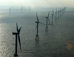 Senvion turbines in action at RWE's 295MW Nordsee Ost offshore wind farm in Germany (Courtesy Senvion).