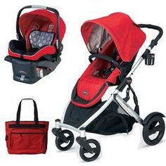 Click Image Above To Buy: Britax B-ready Stroller And Chaperone Infant Carrier With Diaper Bag - Red Britax B Ready Stroller, Car Seat And Stroller, Best Baby Car Seats, Best Baby Strollers, Prams, Toy Store, Diaper Bag, Infant, Children