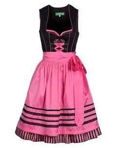 Dirndl   Country Line   ADLER MODE Country Line, Trends, Skater Skirt, Skirts, Pink, Fashion, Bodice, Cotton, Moda