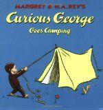 Camping theme book to read aloud in preschool and kindergarten