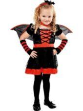Toddler Girls Lil Vampire Costume-Party City SKU: P393188