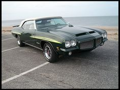 1971 Pontiac GTO Convertible 400 CI, 4-Speed, 1 of 79 Produced presented as lot S40 at Indianapolis, IN 2013 - image1
