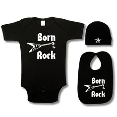 rock n roll baby shower | Kiditude Rock Baby Clothes And Cool Punk Baby Shower Gifts | Personal ...