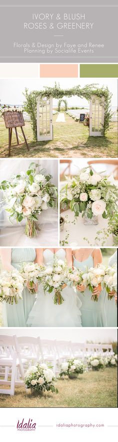 Sandy Hook Chapel Wedding Photos   Florals by Fay and Renee   Photo by Idalia Photography