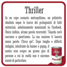 Foto: #Thriller #ClickBaiting