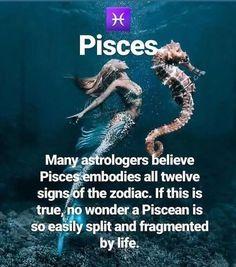 Pisces Love, Zodiac Signs Pisces, Pisces Quotes, Pisces Woman, Zodiac Signs Astrology, My Zodiac Sign, Zodiac Facts, Pisces Traits, Zodiac Sign Traits