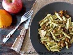 desdemicocina: Pasta al pesto con setas variadas