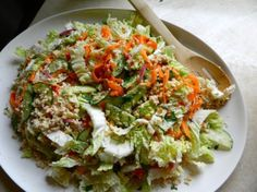 ASIAN CHICKEN COLESLAW    by Rachel Schultz on November 4, 2012 · 6 comments