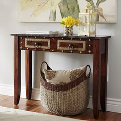 Heera Brown Mango Wood Cabinet | Armchairs, Living rooms and ...
