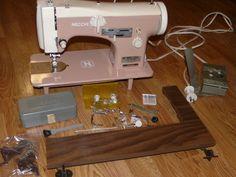Necchi Lelia Type 513 Industrial Strength Heavy Duty Sewing Machine Leather   eBay