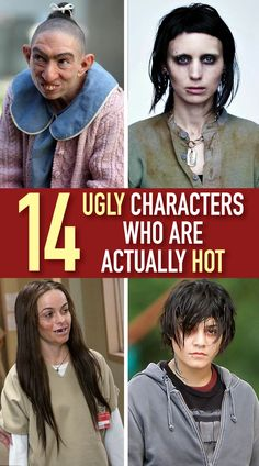 There's almost always a character in a movie or television show that is frumpy, homely, or straight up ugly. Stupid Funny Memes, Haha Funny, Funny Cute, Funny Texts, Rare Pictures, Funny Pictures, Colors And Emotions, Celebrities Then And Now, Being Ugly