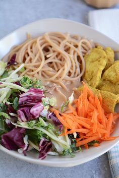 Satay Chicken Noodle SaladReally nice recipes. Every hour.Show  Mein Blog: Alles rund um die Themen Genuss & Geschmack  Kochen Backen Braten Vorspeisen Hauptgerichte und Desserts # Hashtag