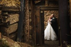 Rustic mountain wedding photos
