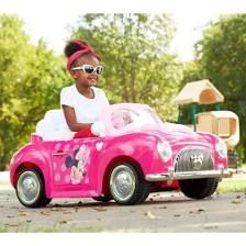 Disney Minnie Mouse 6-volt Battery-Power Electric Ride-On, Pink