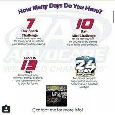 How many days do YOU have? Cassandra Forbes Independent AdvoCare Distributor Www.advocare.com/150394103 (501) 251-5299