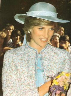Princess Diana in Australia, April 3, 1983
