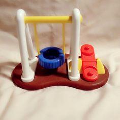 VINTAGE LITTLE TIKES MINIATURE SWING SET   Toys & Hobbies, Preschool Toys & Pretend Play, Little Tikes   eBay!