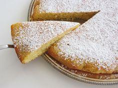 Zitronenkuchen mit Maismehl