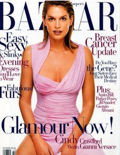 Baaar October 1998 - Cindy Crawford