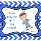 This is a collection of the first 500 words (lists 1-20) on the Star Words sight word list. It has a star/space theme. The students can practice th...