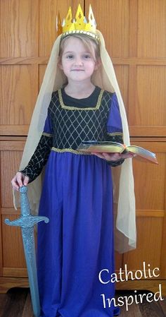 St. Dymphna Costume  | Catholic Inspired