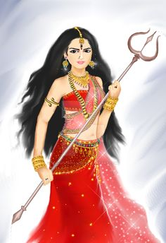 Navratri Puja will help you overcome all your negativities. Flourish with wealth on this Navratri by offering Homam to Lakshmi, Saraswathi & Durga. Shiva Hindu, Durga Puja, Hindu Deities, Hinduism, Durga Kali, Shiva Art, Krishna Art, Kali Goddess, Indian Goddess