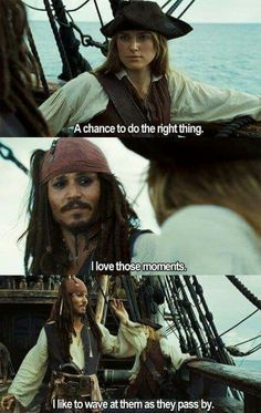Moment, Pirates of the Caribbean