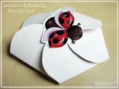 …and here is how it's done! Really really easy and it won't take much time! 1. Print off the template Ladybird & Butterfly Pop Up Card! (Click on the image below and a high quality image (A4 at 300 dpi) will open up. Right mouse click and save to your …
