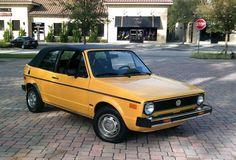 1982 Volkswagen Rabbit Convertible