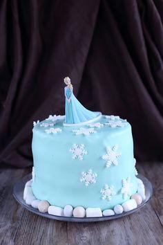 Suklaapossu: Frozen Elsa kakku