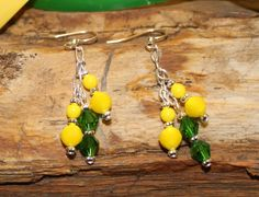 Oregon Duck Jewelry. Earrings from the Quack Collection
