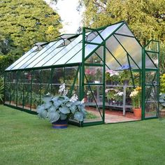 You've got quite a plant family, so get it started in style while you flex your green thumb with the Palram Balance Hobby Greenhouse . This greenhouse. Greenhouse Effect, Home Greenhouse, Greenhouse Gardening, Hydroponic Gardening, Greenhouse Ideas, Greenhouse Wedding, Organic Gardening, Cheap Greenhouse, Pallet Greenhouse