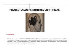 Proyecto sobre mujeres cientificas hoja de ruta