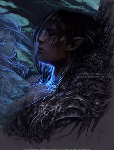Adele Lorienne, aka saimain is a talented freelance artist from Oregon who works on original fantasy art with mixed medias. Her drawings are so amazing, breathtaking which invoke real emotions. Fantasy Magic, Dark Fantasy, Fantasy Queen, Fantasy Town, Fantasy Forest, Fantasy Castle, Fantasy Rpg, Fantasy Makeup, Magical Creatures