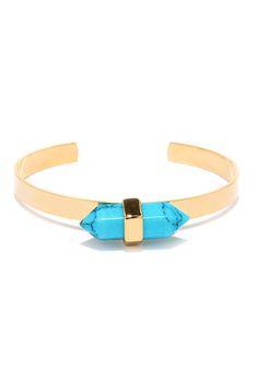 turquoise crystal bracelet / lulu's