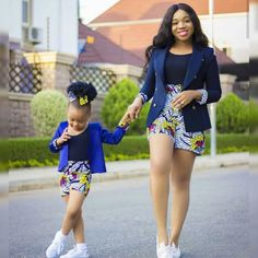 African Print/ Ankara Blouse and Skirt/ African Clothing/ Ankara Print : African Fashion Ankara, African Fashion Designers, Latest African Fashion Dresses, African Print Fashion, Africa Fashion, Ankara Styles For Kids, African Dresses For Kids, African Print Dresses, African Kids