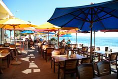 Ocean View Bar and Grill at Hotel Laguna - Laguna Beach, CA..one of my favorites.  Had halibut which was yummy