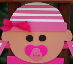It's a Girl Baby Banner  Welcome Baby Girl by HatterandHareEvents, $15.00