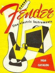 Fender 1954 Catalog