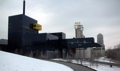 CONCEPT: legibility of historic references--silos, mills, dramatic skyways. [Guthrie Theater, Minneapolis MN | Jean Nouvel]