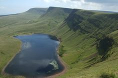 Llyn Y Fan, Carmarthenshire, Wales. - Steeped in Welsh legend, this stunning lake is the location of one of Wales' best known folk stories: The Lady of the Lake.