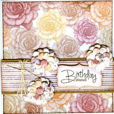 Craftwork Cards - Vintage Flora Paper Blox Pad
