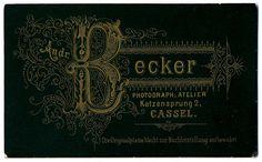 Andr. Becker, Cassel - Verso, via Flickr.