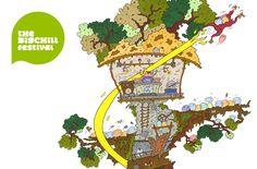 The Big Chill Festival Big Chill, Creative, Illustration, Illustrations