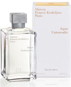 Acqua Universalis Maison Francis Kurkdjian for women and men  MAIN ACCORDS citrus floral aromatic musky woody