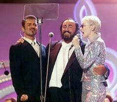 George & Luciano & Annie