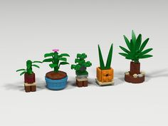 Lego (^o^) Kiddo (^o^) - Lego plants