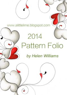 a little lime: 2014 Pattern Folio out in December