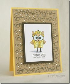 Adorable card created by Kimberly Crawford!